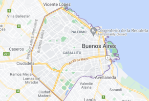 Map of Argentina Buenos Aires