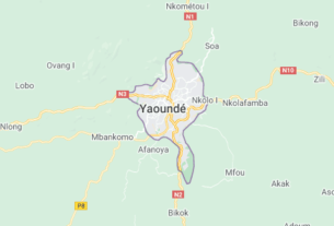 Map of Cameroon Yaounde