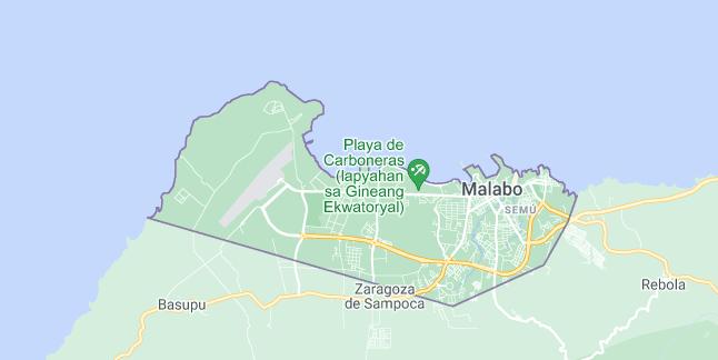 Map of Equatorial Guinea Malabo