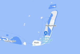 Map of Maldives Male