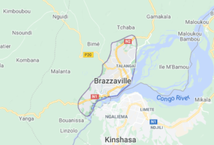 Map of Republic of the Congo Brazzaville