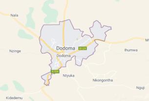 Map of Tanzania Dodoma