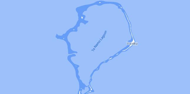 Map of Tuvalu Funafuti